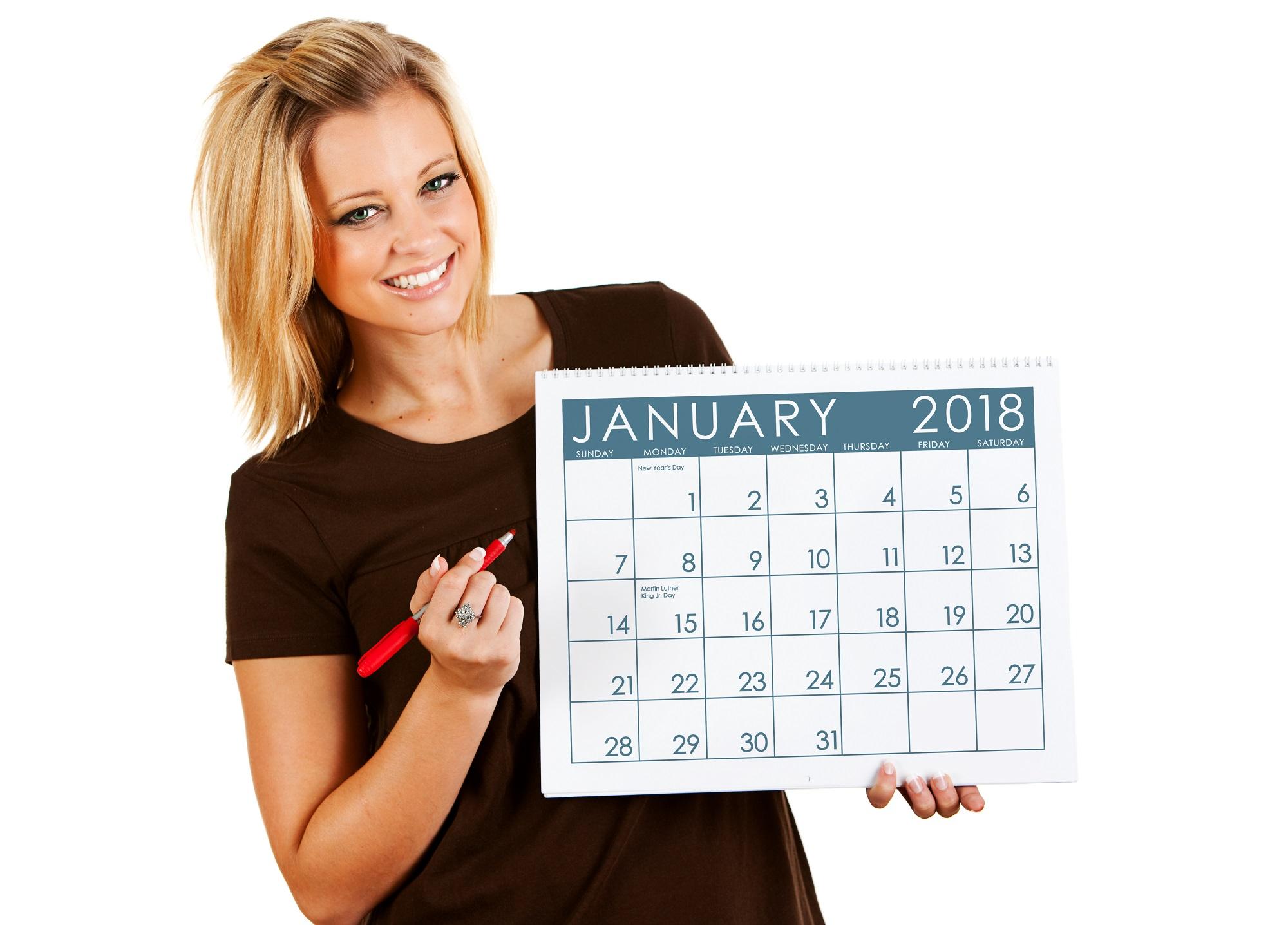 Праздники в январе 2018. Источник фото: Shutterstock