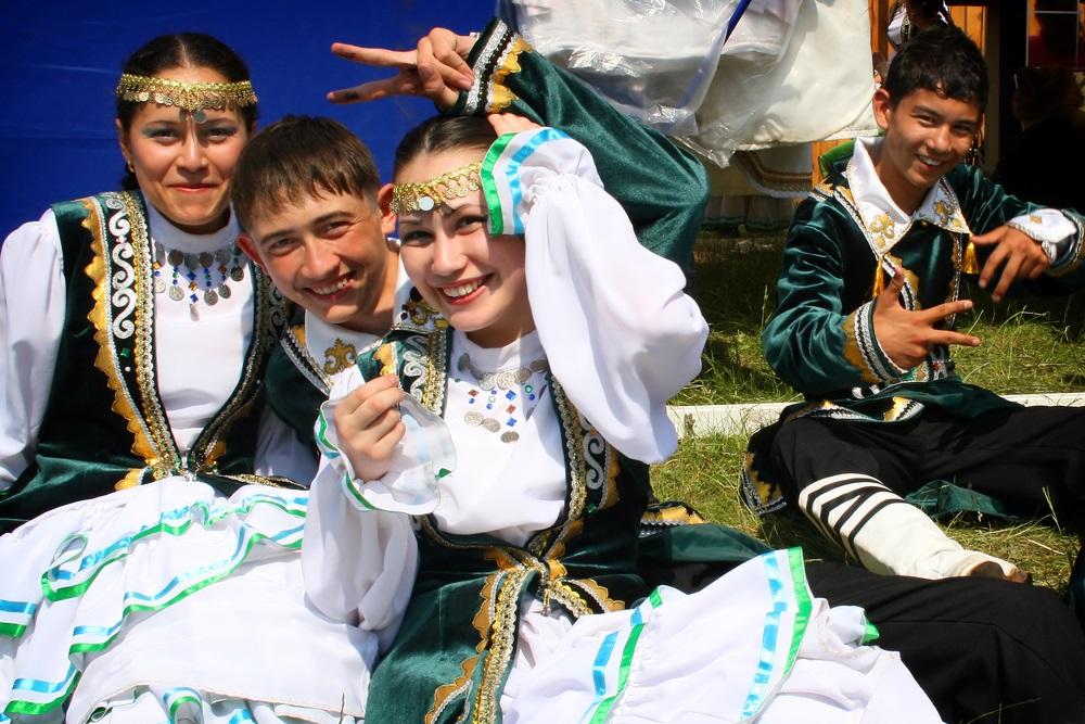 На национальном празднике в Башкирии