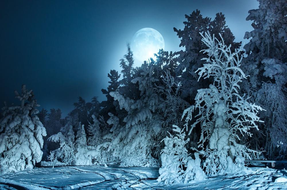Зимнее полнолуние
