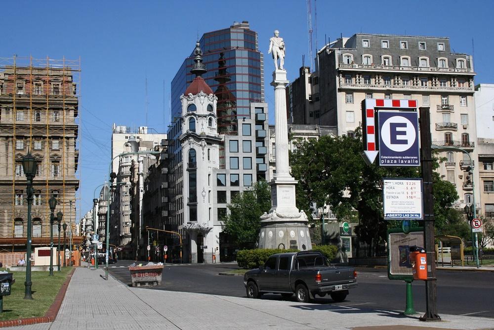 На улицах Буэнос Айреса, Аргентина