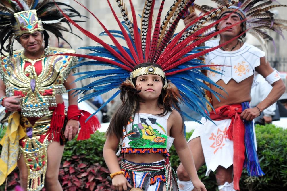 Юный ацтекский воин