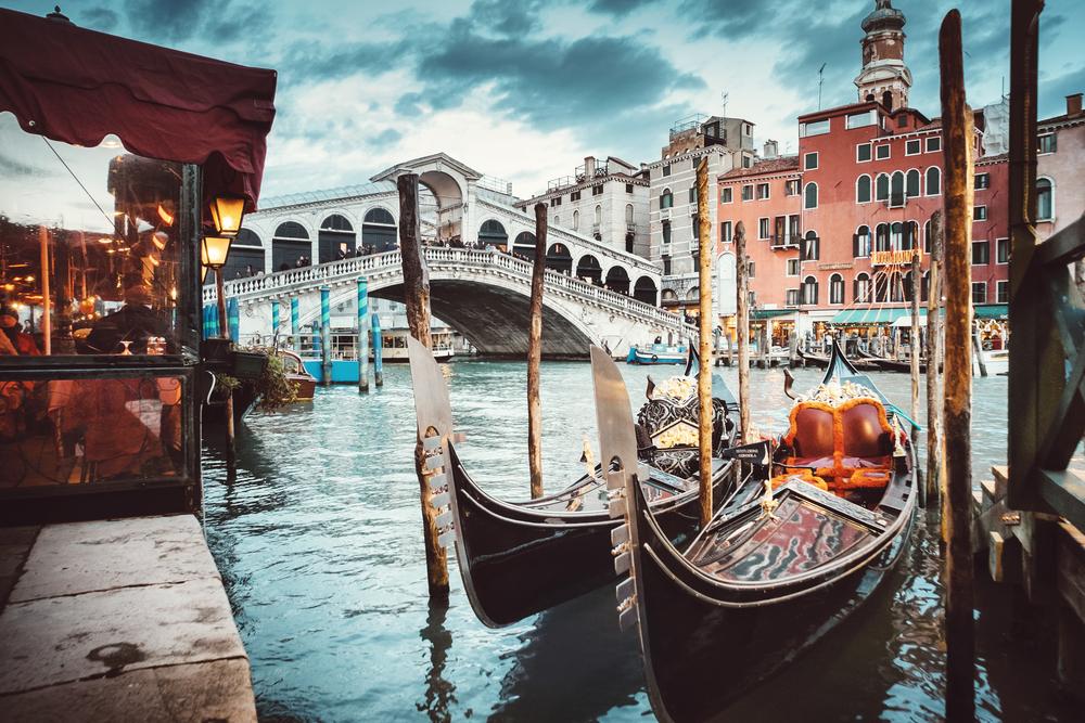 Вид города Венеция