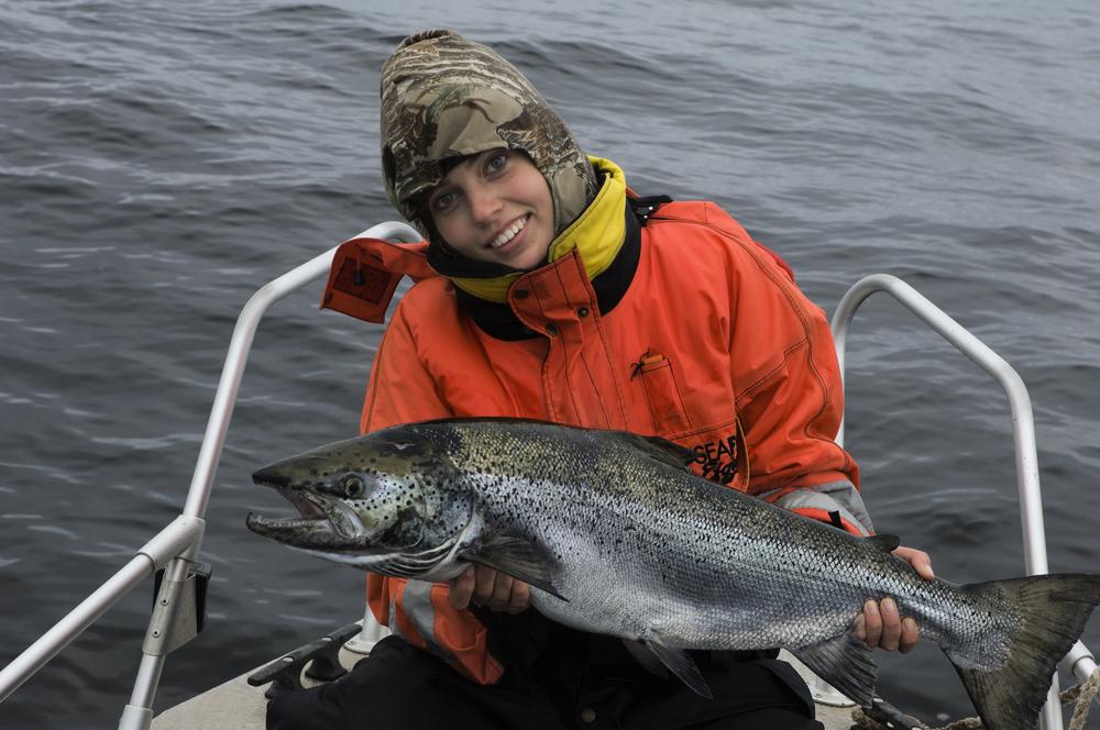 Удачная рыбалка на Онежском озере