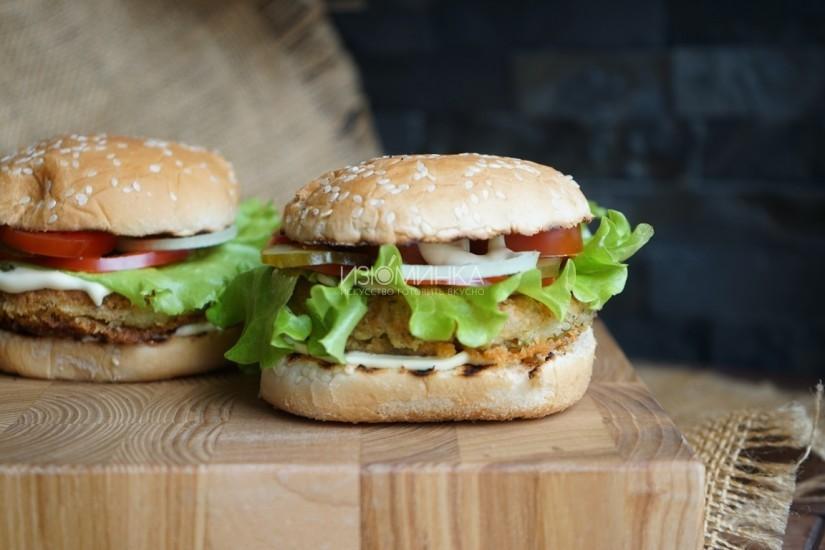 Вегетарианские бургеры от Izuminka.net