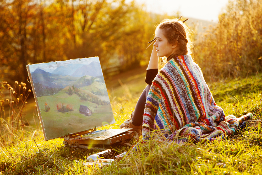 Осень - прекрасное время для творчества