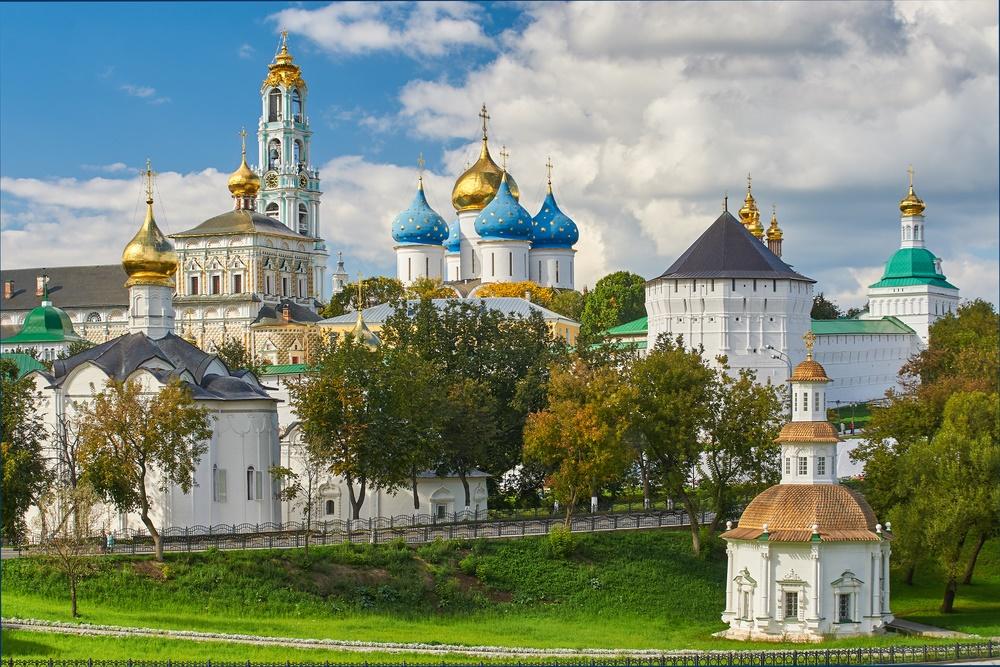 Свято-Троицкая Сергиева Лавра в городе Сергиев Посад