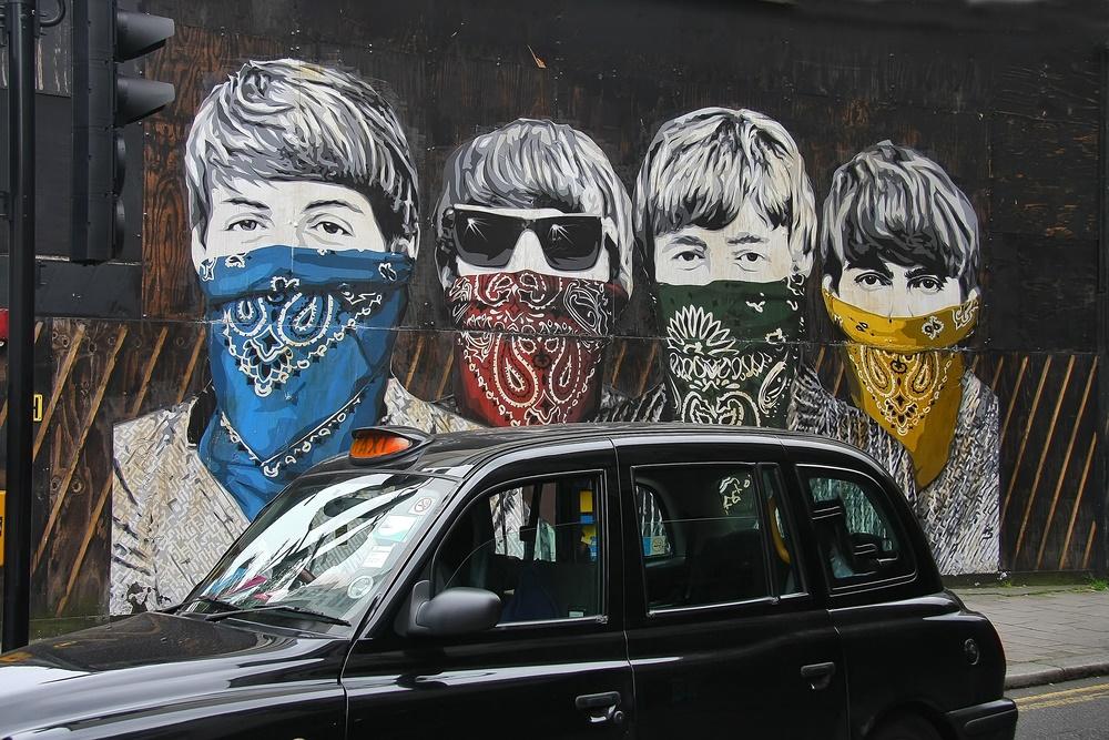 """""""Битлс"""". Лондонское граффити"""