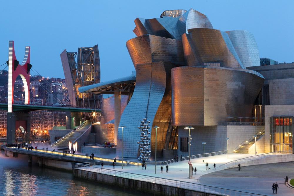 Музей Гуггенхайм в Бильбао, Испания