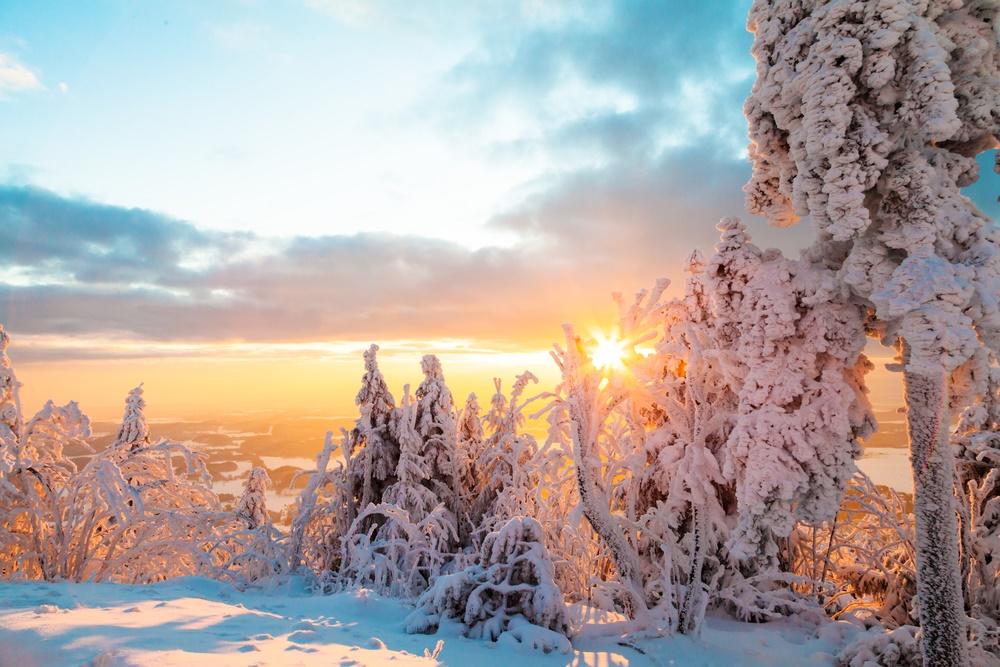 Как же красиво зимой!