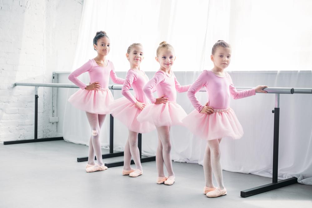 В балетной студии