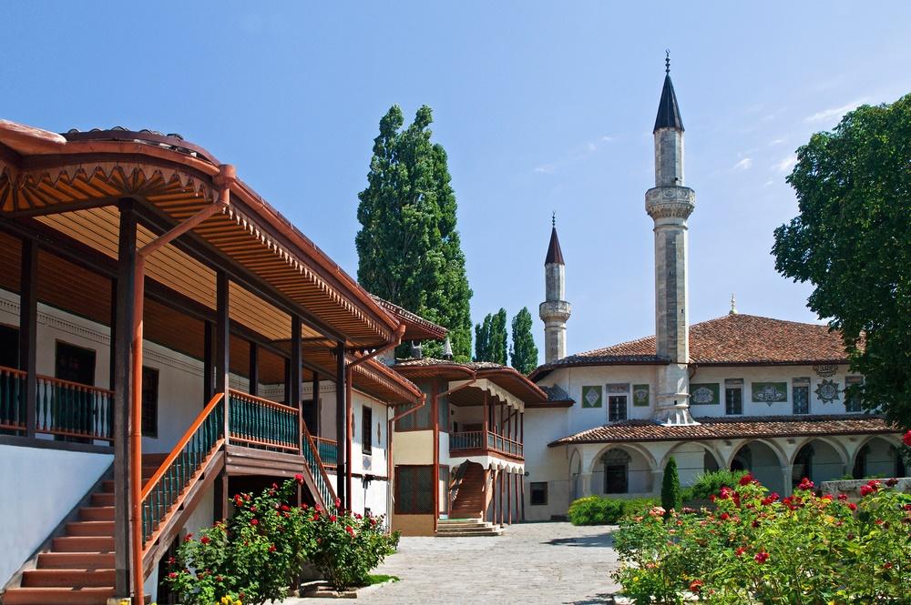 Ханский дворец в Бахчисарае, Крым