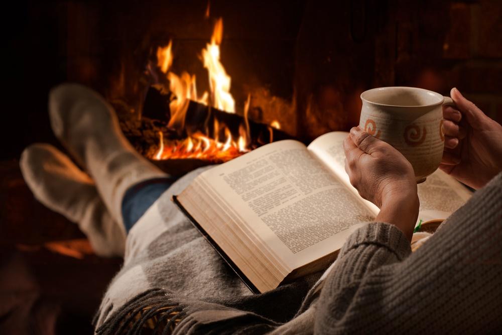 Теплый зимний вечер