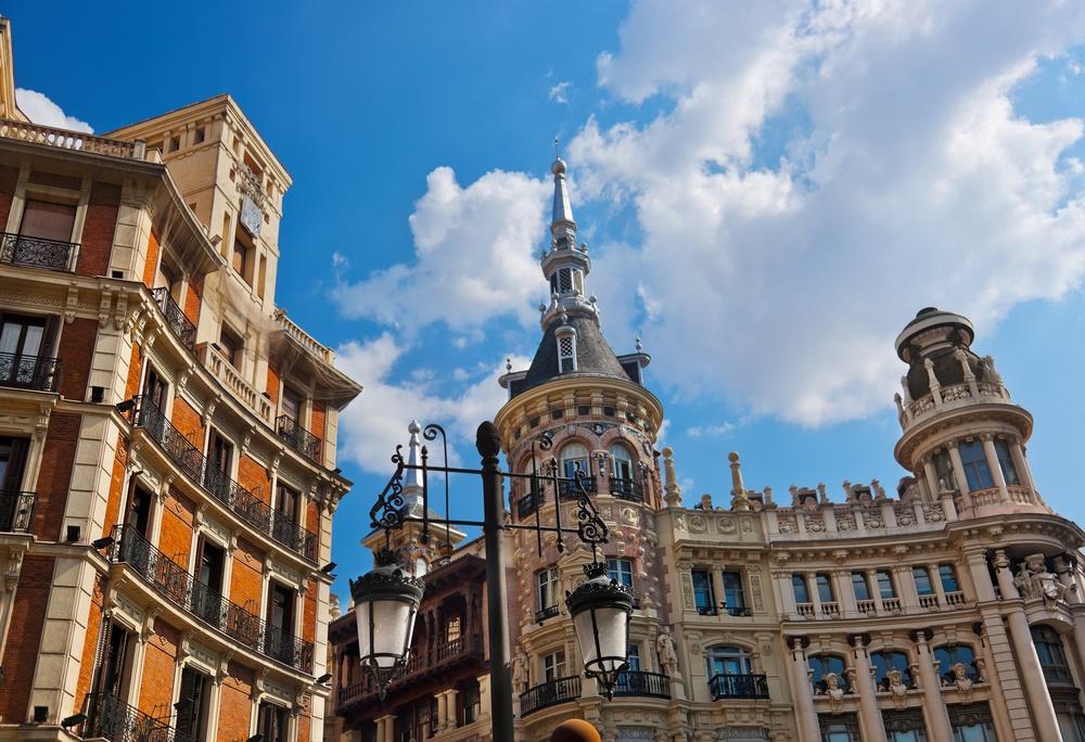 На улицах Мадрида, Испания