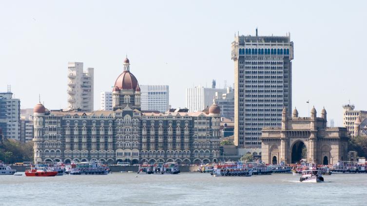 Вид г. Мумбаи, Индия