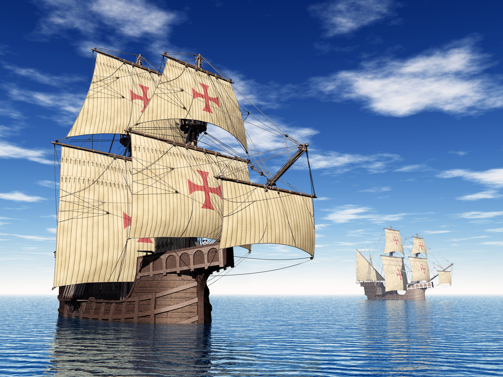 20 сентября 1519 года Магеллан отправился в кругосветное путешествие