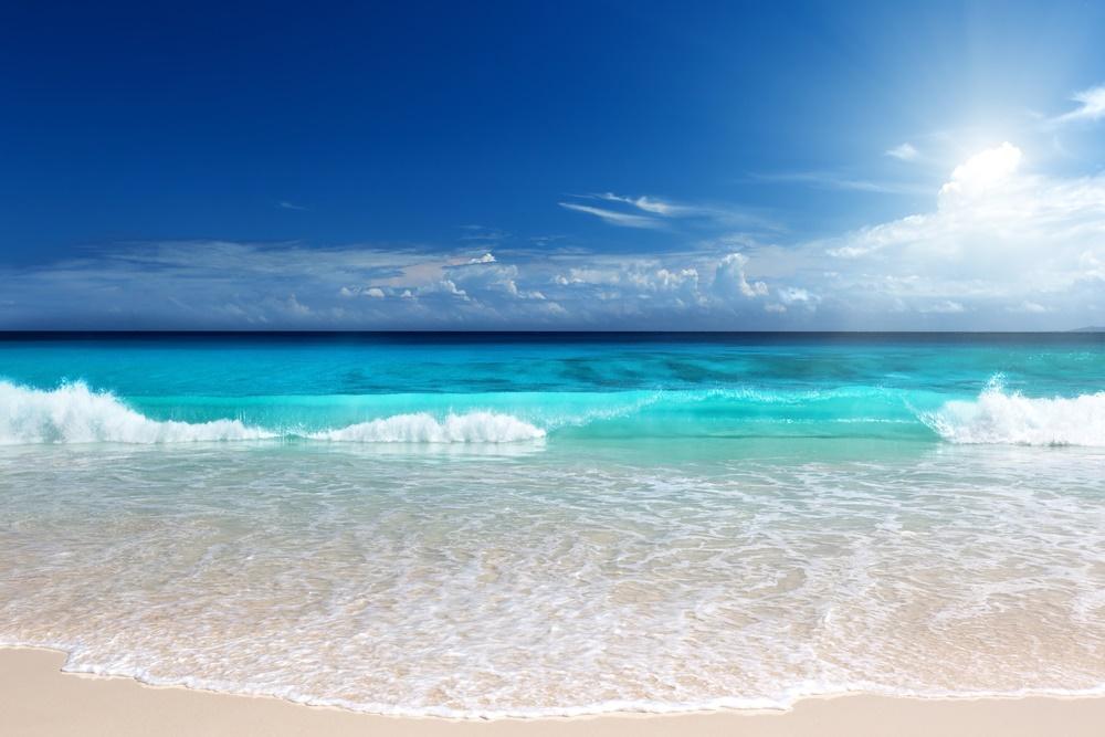 Пляж на Сейшельских островах