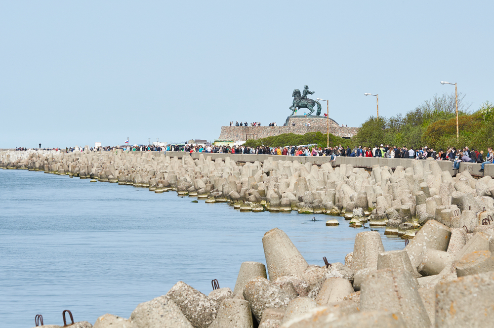 Побережье Балтийского моря в районе г. Балтийск, Калининградская область
