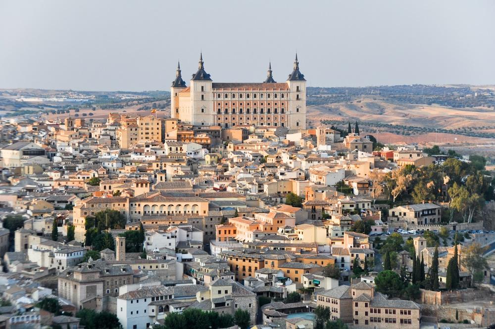 Вид Толедо, Испания