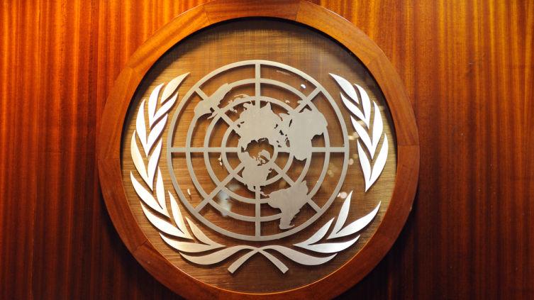 Эмблема ООН