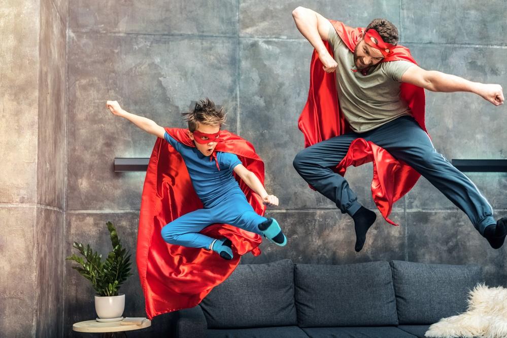 Классно почувствовать себя супергероем!