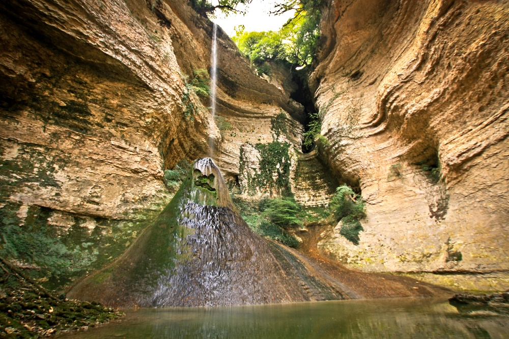 Шакуранский водопад, Абхазия