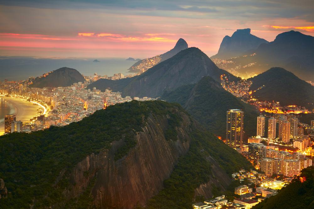 Вечерний Рио-де-Жанейро, Бразилия