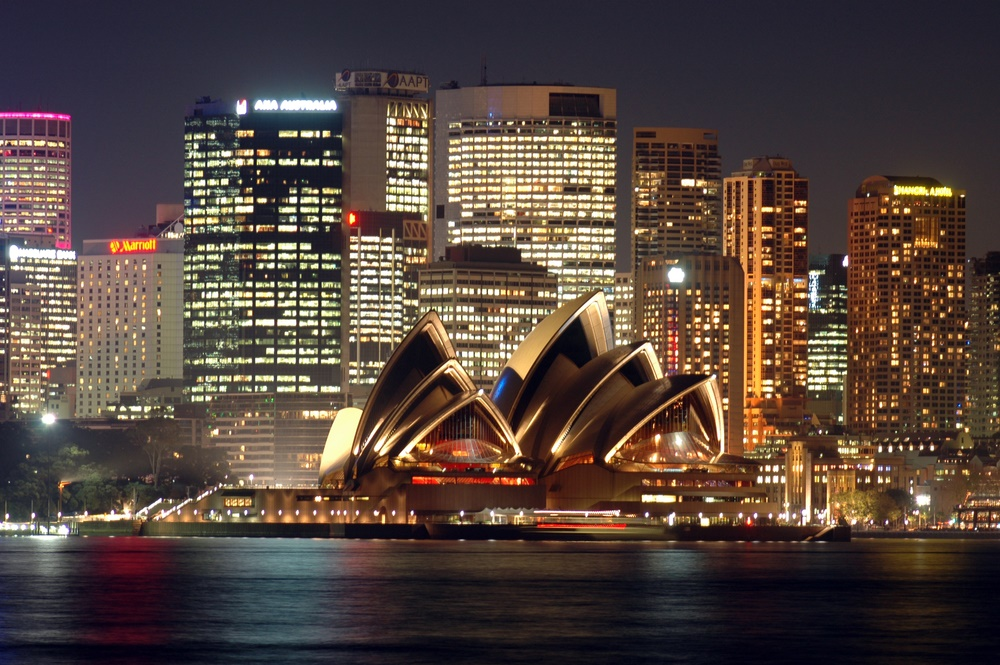 Вечерний Сидней, Австралия