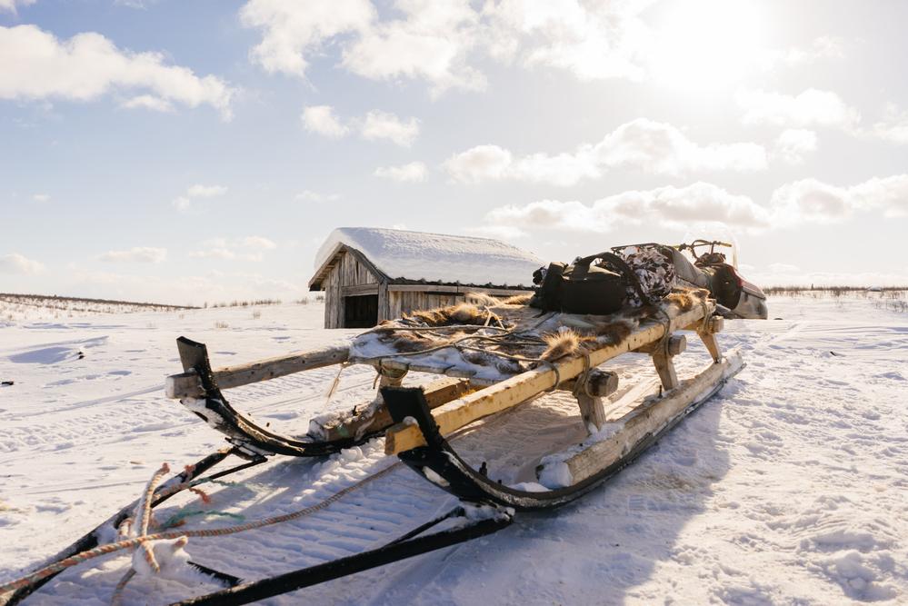 Где-то в снегах Якутии