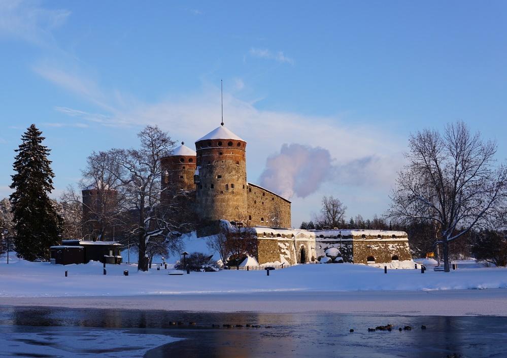 Крепость Савонлинна, Финляндия