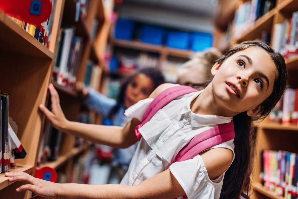 Волшебный дух школьной библиотеки