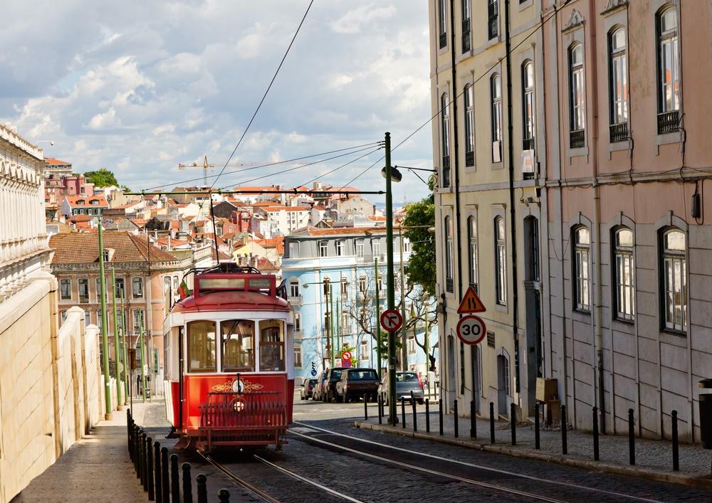 Вид Лиссабона, Португалия