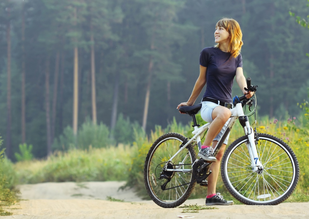 Самое время прокатиться на велосипеде!