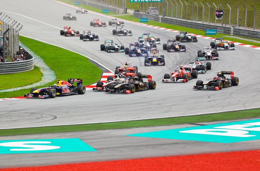 Гонка Формулы 1