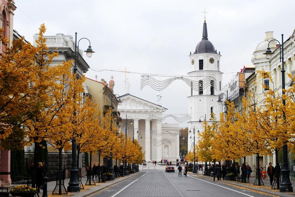 Осенний Вильнюс