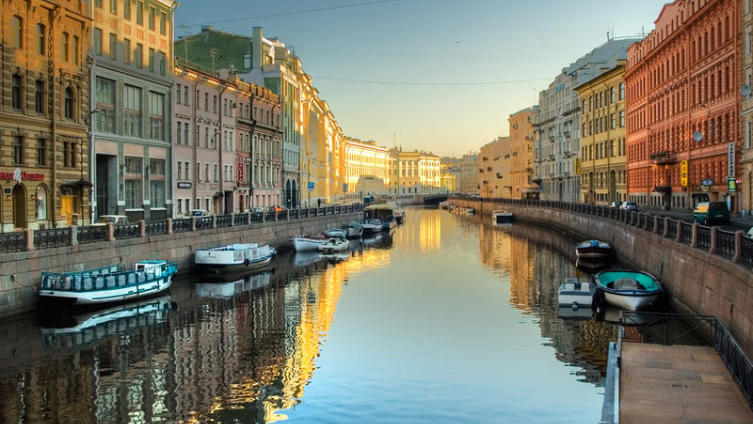Вид г. Санкт-Петербург