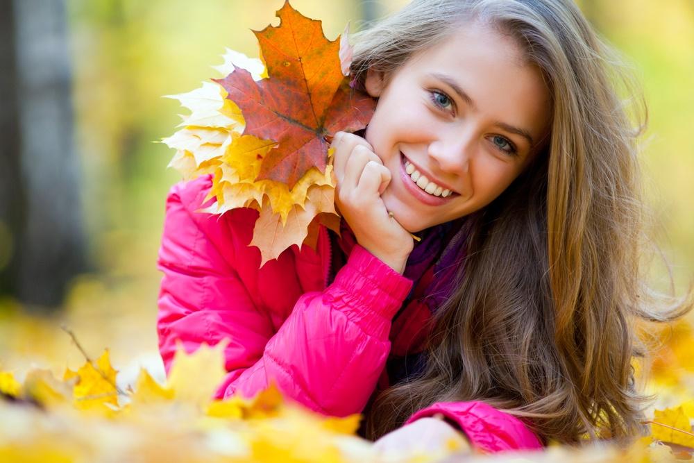 Осень - отличное время для улыбок!