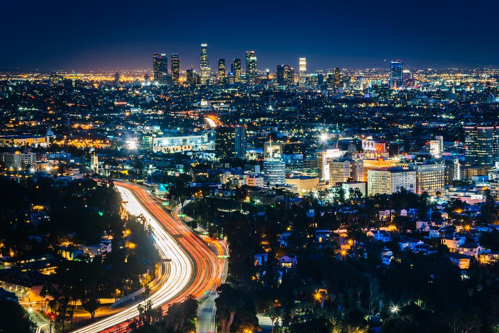 Вечерний Лос-Анжелес