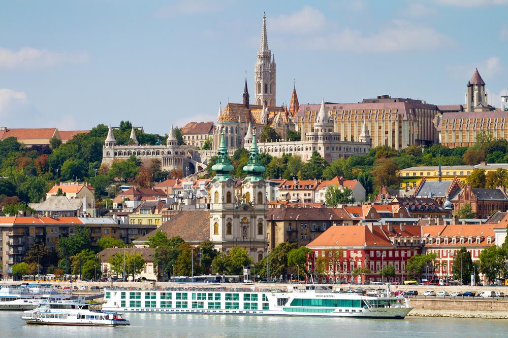 Будапешт летом