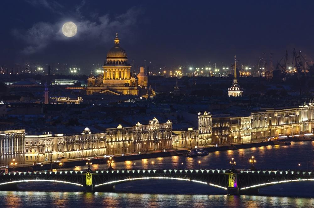 Вечерний Петербург