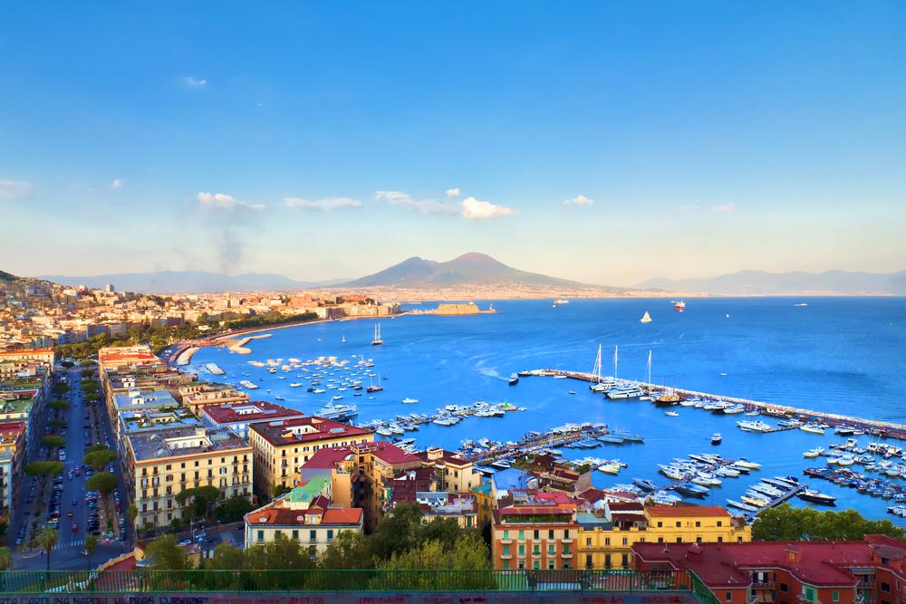 Панорама Неаполя, Италия