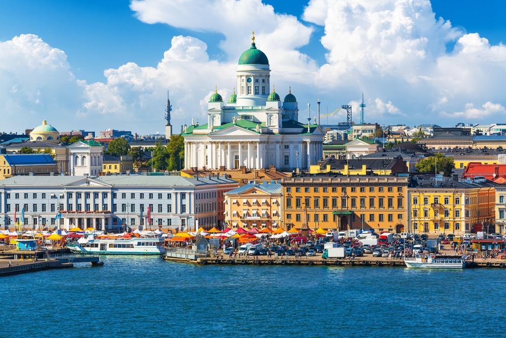Летний Хельсинки, Финляндия