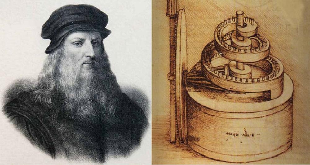 Швейная машина Леонардо Да Винчи