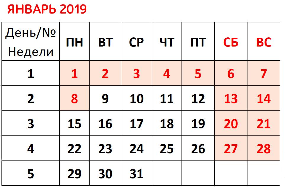 Новогодние каникулы 2019-2020 года: как отдыхаем, календарь новые фото