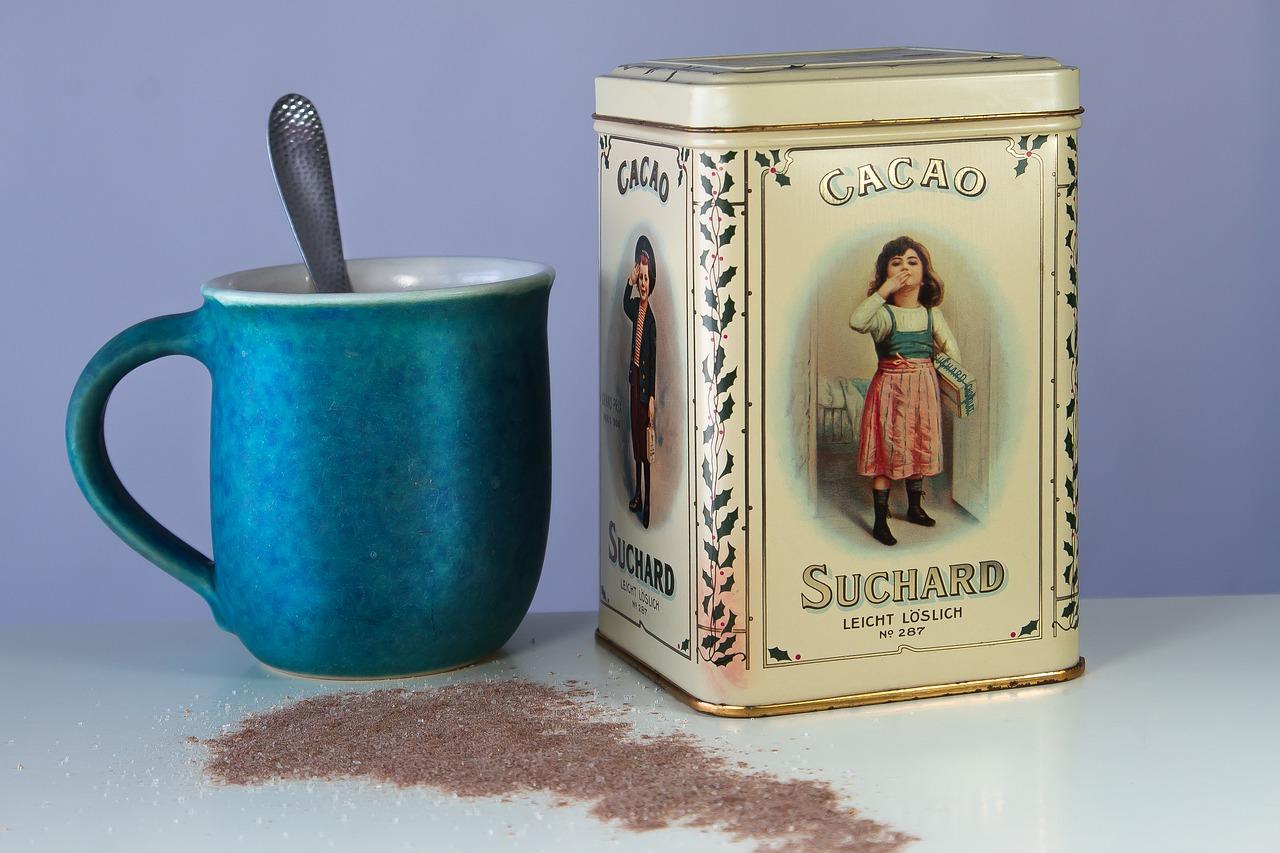 Какао с молоком и медом