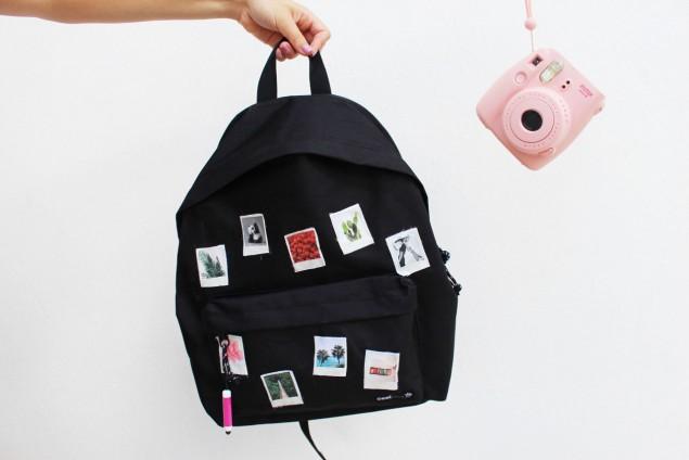 Декор школьного рюкзака