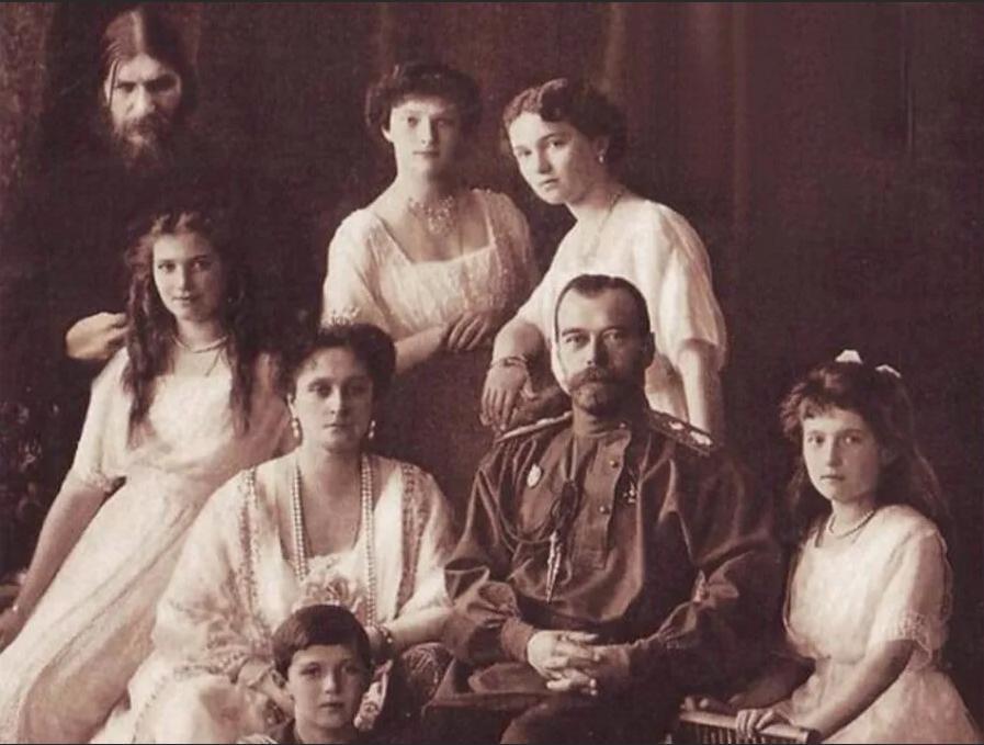 Григорий Распутин, царская семья Николая II