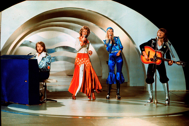 Лучшая песня «Евровидения», по мнению телезрителей. «Ватерлоо», группа «АББА», 1974 г.