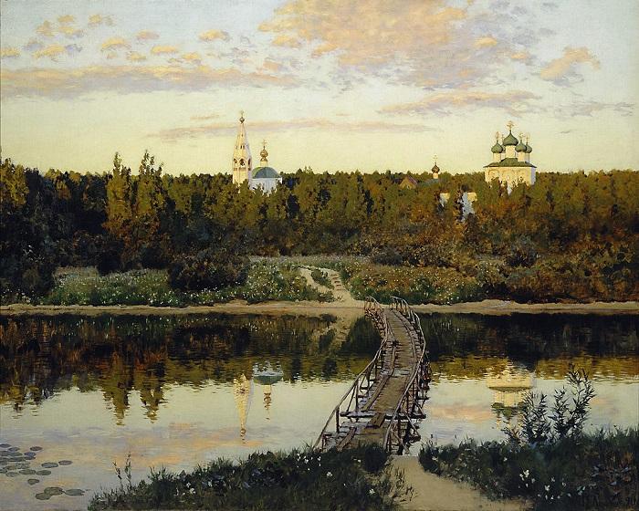 Картина «Тихая обитель» (1890)