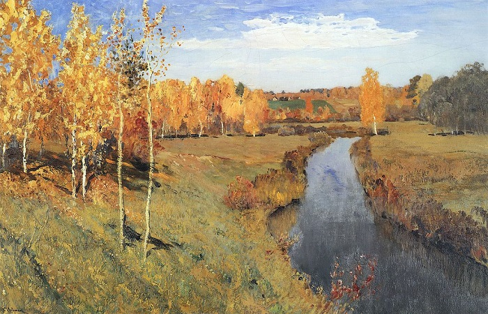 Картина «Золотая осень» (1895)