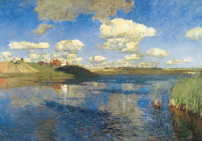 Картина «Озеро. Русь» (1900)